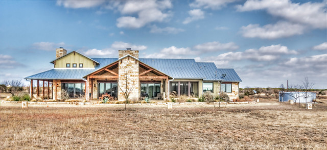 Hill Country Craftsman Traditional Exterior Austin