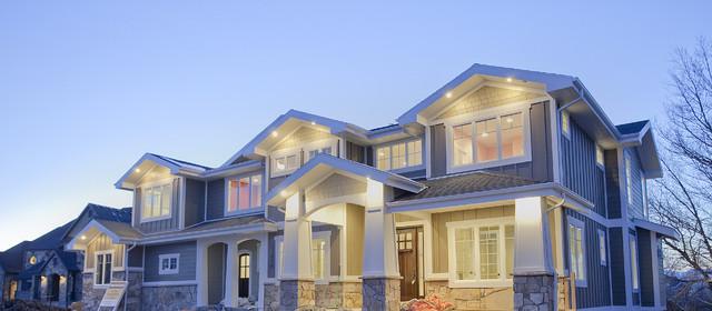 Custom Home - Draper, UT traditional-exterior