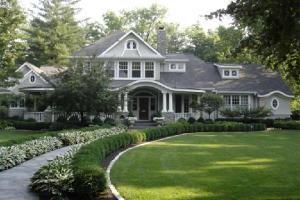 Fresh Tudor traditional-exterior
