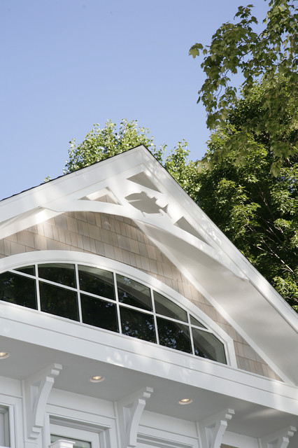 Fishy Gable End Trim Traditional Exterior Chicago
