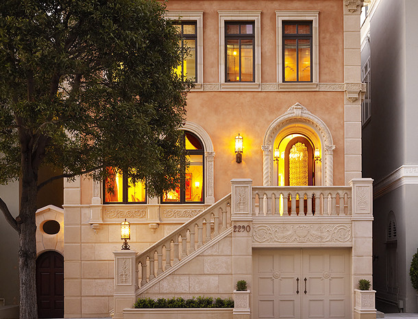 Pacific Heights Residence traditional-exterior