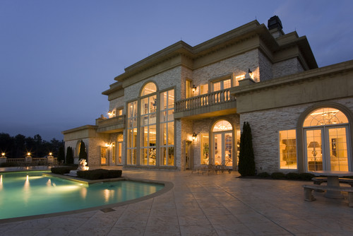 Please Show Front Elevation For This Luxury Villa