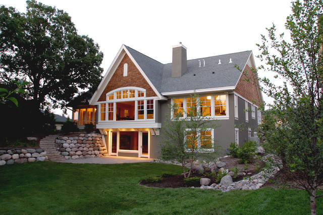 Golden Valley Lake Home Traditional Exterior