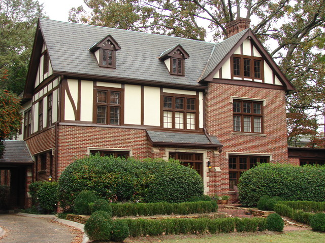 Druid hills renovation of historic home new childrens space in attic traditional exterior