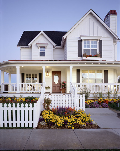 Parade of Homes traditional exterior
