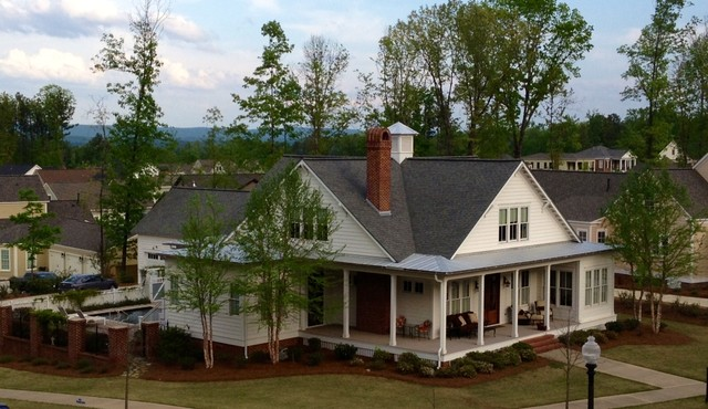 traditional southern style - farmhouse - exterior - birmingham