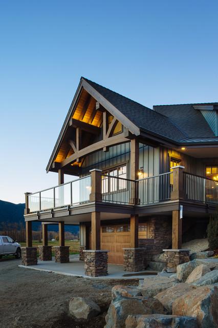 Traditional Timber Frame Custom Home