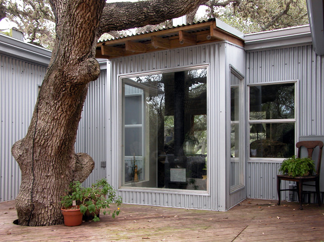 Trailer House Remodel industrial-exterior