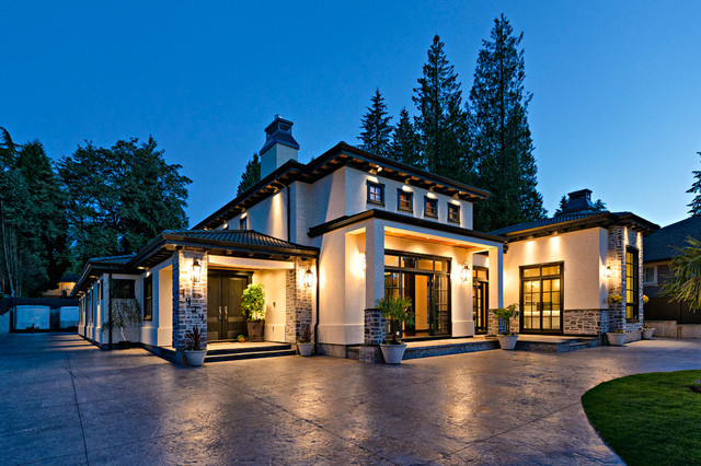 Exteriors Transitional Exterior Vancouver By Total