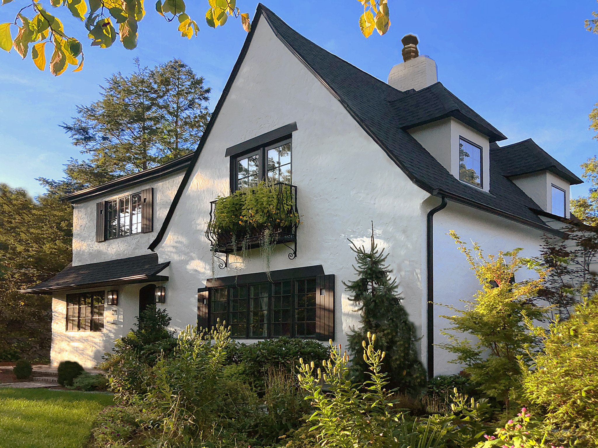 Transitional Style Tudor, Country Contemporary