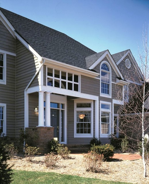 Transom Windows Traditional Exterior Providence By