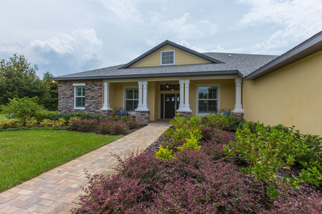 Trapnell model home craftsman exterior tampa by for Craftsman model homes