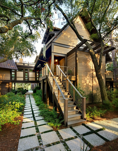 Tree House-Kiawah Island contemporary-exterior