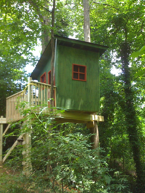 Tree house traditional exterior