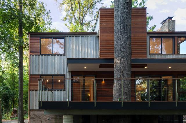 treehouse contemporary-exterior
