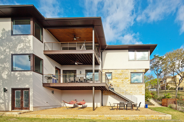 Treemont Residence contemporary-exterior