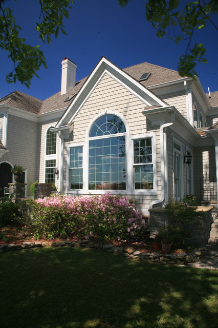 Trent River Home traditional-exterior