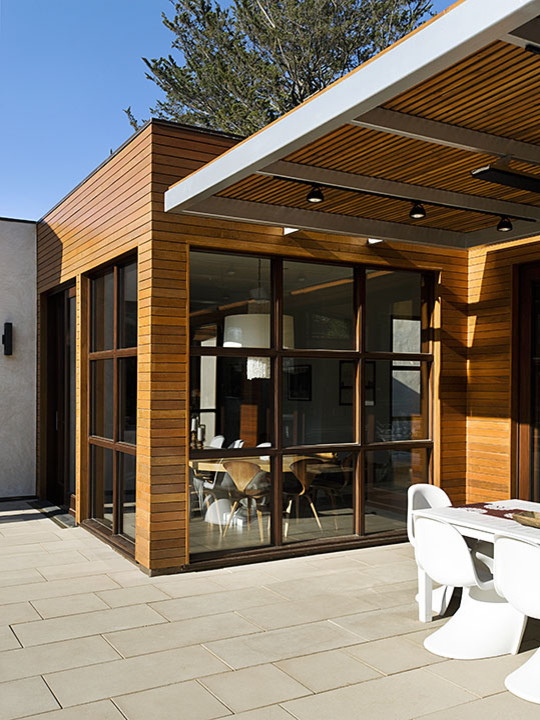 Example of a trendy exterior home design in San Francisco