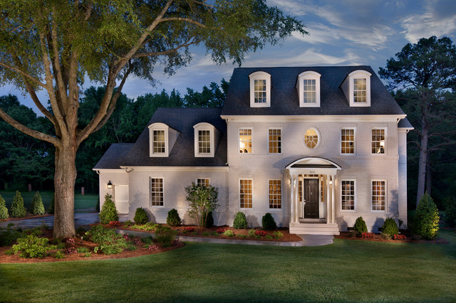 Triveny Neighborhood Model Home Traditional Exterior Charlotte By True Homes Usa