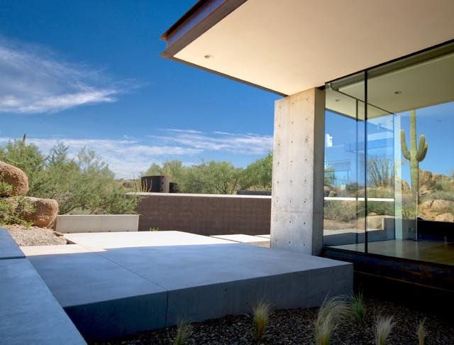 Troon Residence modern-exterior