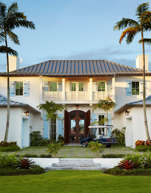 Dutch West Indies Estate Tropical Exterior Miami By Affiniti Architects