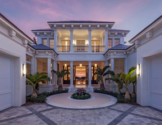 tropical exterior. Black Bedroom Furniture Sets. Home Design Ideas