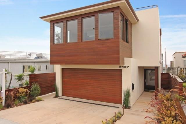 Tropical modern tropical exterior los angeles by for Modern tropical house exterior