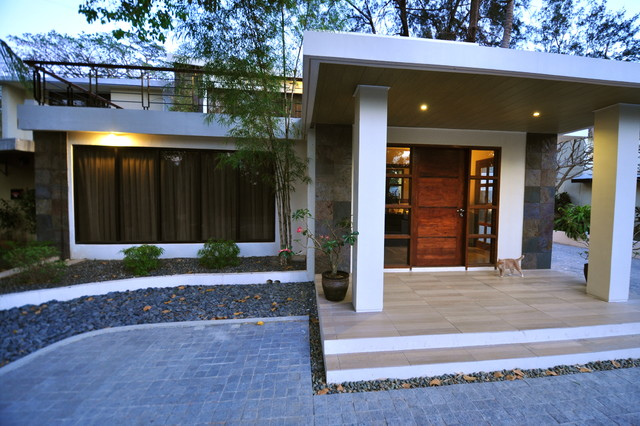 modern asian design house in the philippines - house design