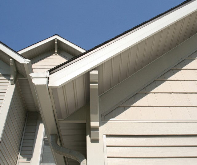 TruBead Soffit Contemporary Exterior other metro