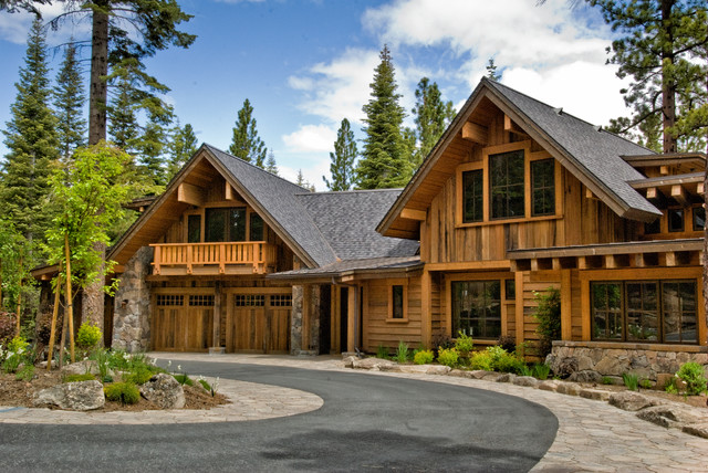 Truckee, CA home traditional-exterior