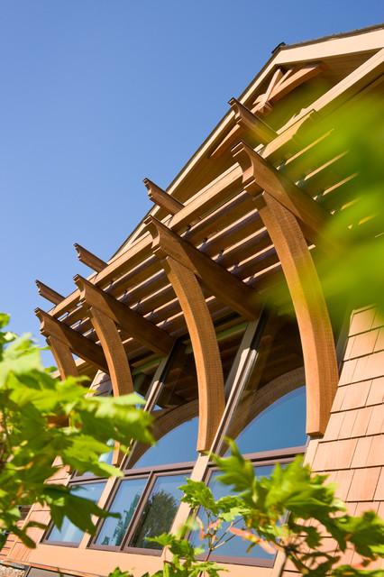 True Residence rustic-exterior