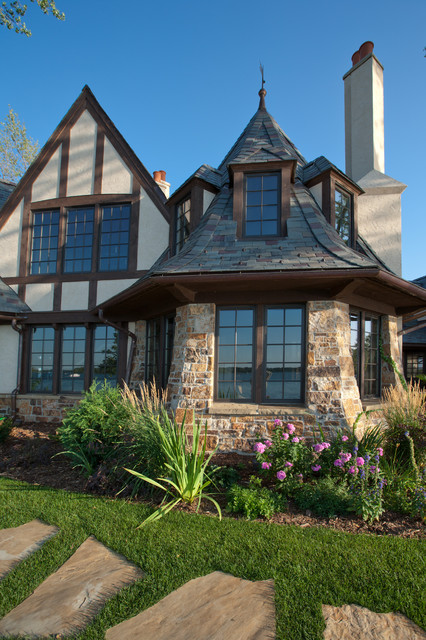 Tudor on the Point traditional exterior