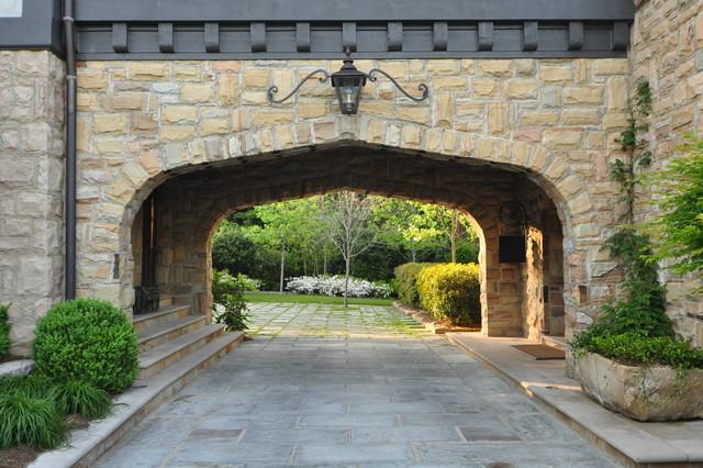 English tutor home traditional exterior birmingham for Porte in english