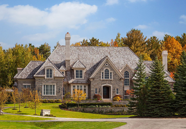Tudor Style Home Traditional Exterior Toronto By