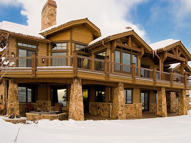Tuhaye, Park City, Utah by Cameo Homes Inc. traditional-exterior