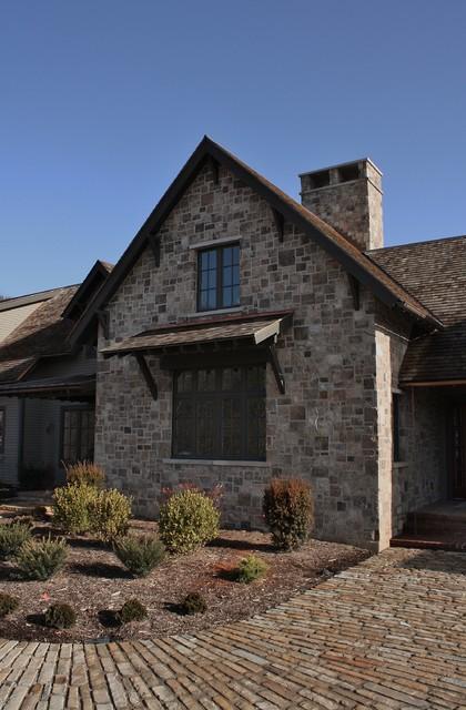 European Farmhouse exterior
