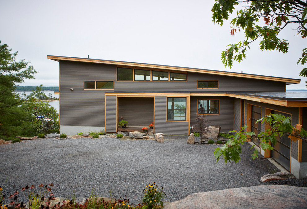 Turkel Design For Lindal Cedar Homes 70626 Contemporary Exterior Seattle By Lindal Cedar Homes