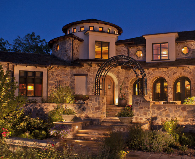 Tuscan Exterior: mediterranean home decor for sale