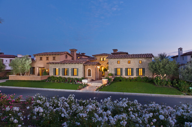 Tuscan Farmhouse 4 Mediterranean Exterior Orange County by South Coas