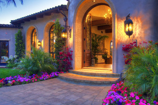 Tuscan Home - Exterior - san diego - by Architect Mark D ...