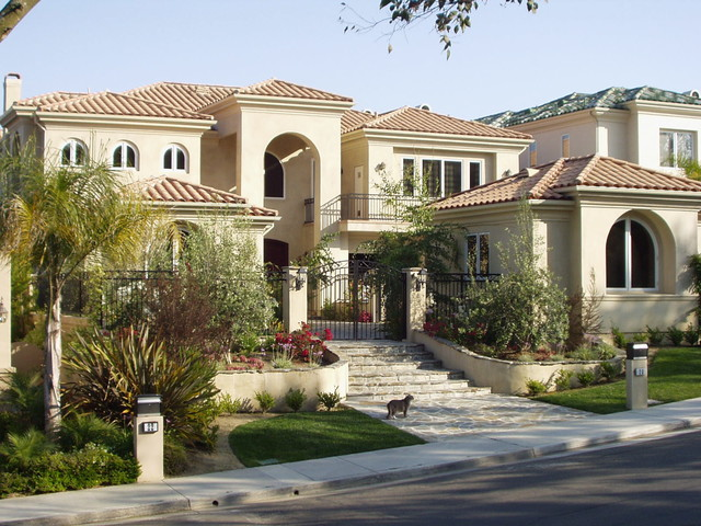 Tuscan house mediterranean exterior orange county for Mansions in orange county