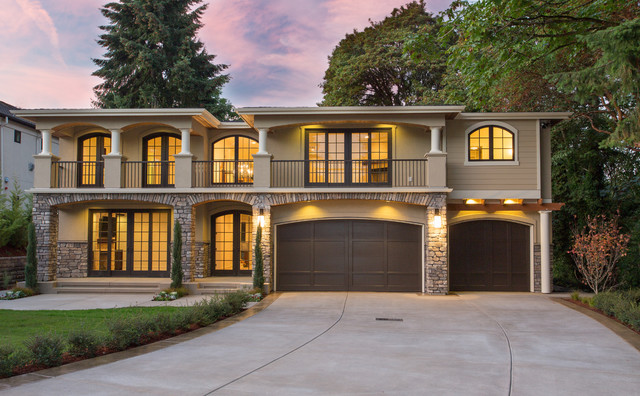 Tuscan In Medina Heights Mediterranean Exterior Seattle By BDR Fine Homes