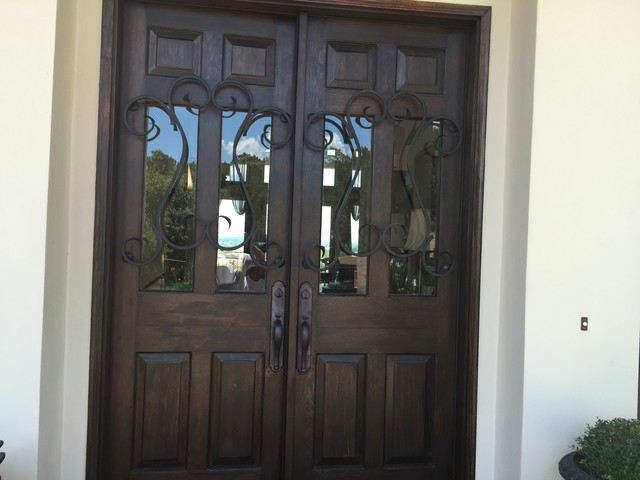 Tuscan Style Front Doors Mediterranean Exterior