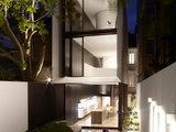 modern exterior Houzz Tour: Sleek Addition With a Standout Stairway (36 photos)