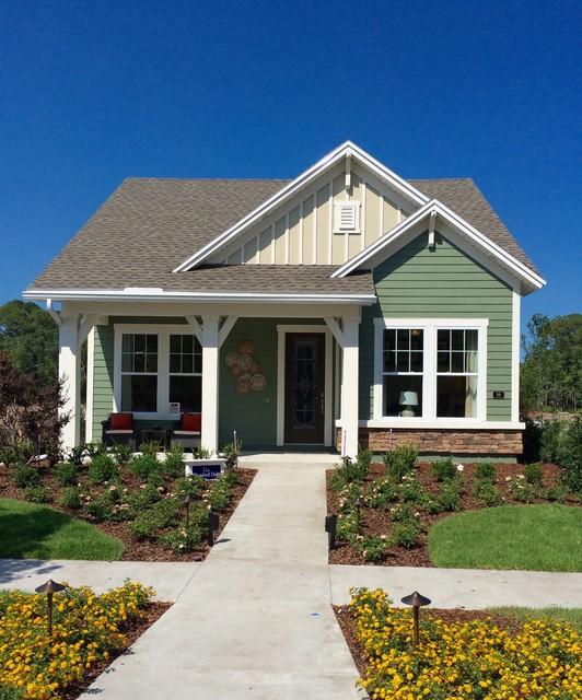 Twenty mile village traditional exterior for Village home design photos