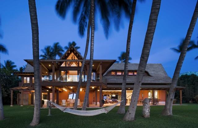 Twilight tropical-exterior