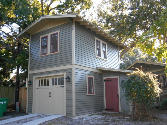 Two-Story Garage Apartment - Craftsman - Exterior - Tampa - by ...