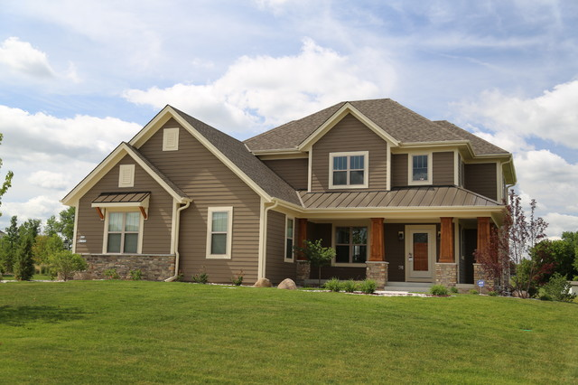 Two story homes by aspen homes craftsman exterior - How to paint a 2 story house exterior ...