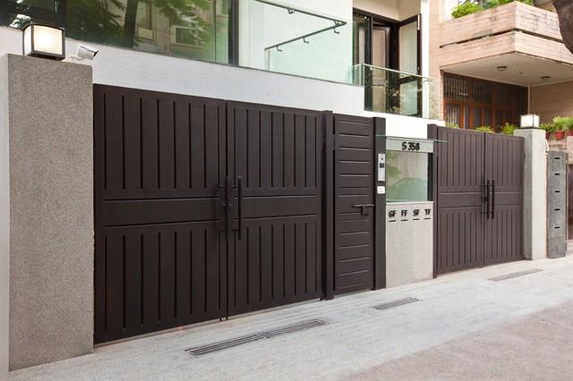 Ultra modern appartments in gk2 new delhi modern exterior for Ultra modern house plans for sale