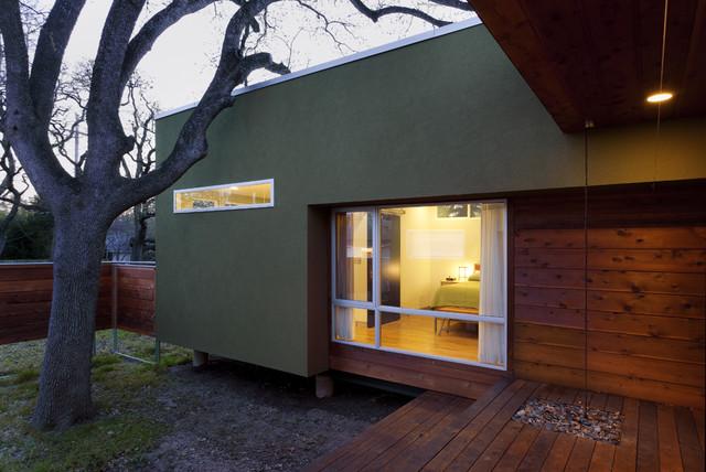 Under Tree House contemporary-exterior